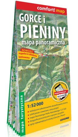 GORCE I PIENINY mapa panoramiczna 1:52 000 EXPRESSMAP 2021 (1)