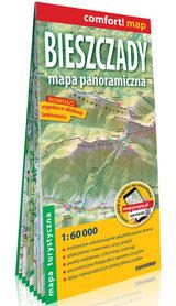 BIESZCZADY mapa panoramiczna 1:60 000 EXPRESSMAP 2021