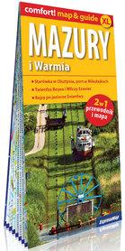 WARMIA I MAZURY 2w1 przewodnik i mapa EXPRESSMAP 2021