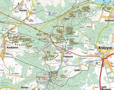 JURA DLA WSPINACZY i nie tylko mapa laminowana 1:100 000 COMPASS 2021 (3)