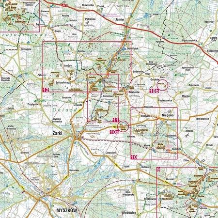 JURA DLA WSPINACZY i nie tylko mapa laminowana 1:100 000 COMPASS 2021 (4)