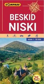 BESKID NISKI mapa turystyczna 1:50 000 COMPASS 2021