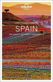 HISZPANIA SPAIN Best of w.3 przewodnik LONELY PLANET 2021