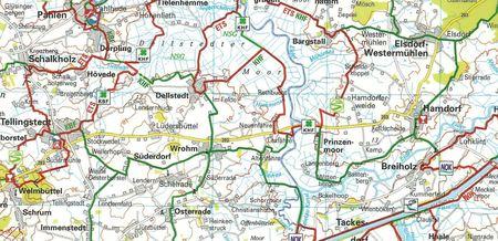 RUGIA UZNAM POMORZE PRZEDNIE mapa turystyczno - rowerowa ADFC 2021 (2)