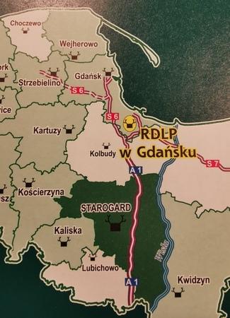 NADLEŚNICTWO STAROGARD mapa 1:60 000 EKOKAPIO 2019 (2)