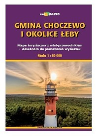 GMINA CHOCZEWO I OKOLICE ŁEBY mapa EKOKAPIO 2021