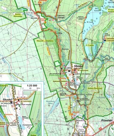 DRAWIEŃSKI PARK KRAJOBRAZOWY mapa 1:50 000 EKOGRAF 2020 (2)