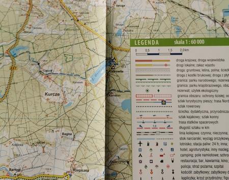 KASZUBY DLA ROWERZYSTÓW I PIECHURÓW mapa wodoodporna 1:60 000 STUDIO PLAN 2021/2022 (6)