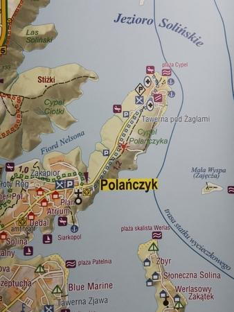 JEZIORO SOLIŃSKIE mapa syntetyczna 1:25 000 STUDIO PLAN 2021/2022 (3)