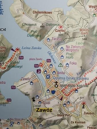 JEZIORO SOLIŃSKIE mapa syntetyczna 1:25 000 STUDIO PLAN 2021/2022 (4)