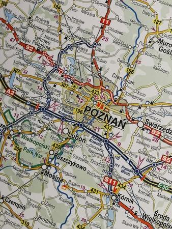 POLSKA mapa samochodowa 1:650 000 COMPASS 2021 (2)