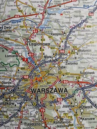 POLSKA mapa samochodowa 1:650 000 COMPASS 2021 (3)