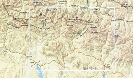 ANETO - POSETS mapa turystyczna 1:50 000 RANDO (2)
