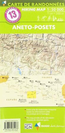 ANETO - POSETS mapa turystyczna 1:50 000 RANDO (3)