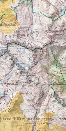 ANETO - POSETS mapa turystyczna 1:50 000 RANDO (4)