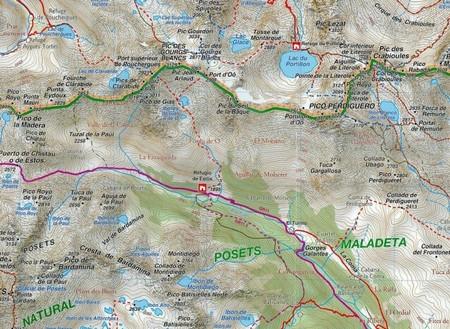 ANETO - POSETS mapa turystyczna 1:50 000 RANDO (5)