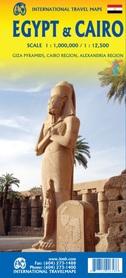 EGIPT KAIR mapa wodoodporna ITMB 2020
