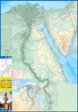 EGIPT KAIR mapa wodoodporna ITMB 2020 (2)