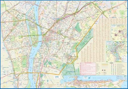 EGIPT KAIR mapa wodoodporna ITMB 2020 (3)
