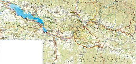 Velo PIENINY mapa rowerowa laminowana  1:30 000 STUDIO PLAN 2021 (2)