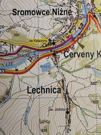 Velo PIENINY mapa rowerowa laminowana  1:30 000 STUDIO PLAN 2021 (3)
