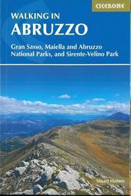 ABRUZJA Walking in Abruzzo przewodnik CICERONE