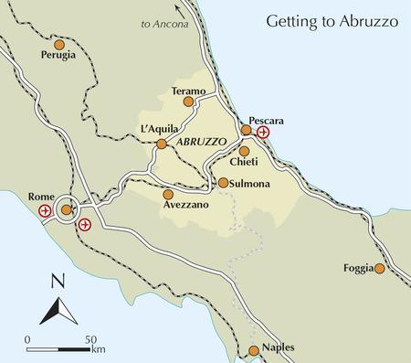 ABRUZJA Walking in Abruzzo przewodnik CICERONE (5)