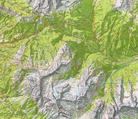 CORTINA D'AMPEZZO DOLOMITY AMPEZZANE 03 mapa turystyczna 1:25 000 TABACCO 2021 (4)