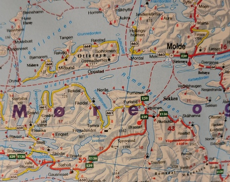 NORWEGIA mapa 1:600 000 FREYTAG & BERNDT 2020 (3)