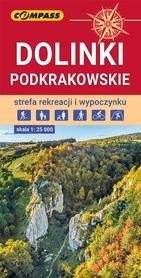 DOLINKI PODKRAKOWSKIE mapa turystyczna 1:25 000 COMPASS 2021