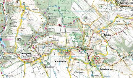 DOLINKI PODKRAKOWSKIE mapa turystyczna 1:25 000 COMPASS 2021 (3)