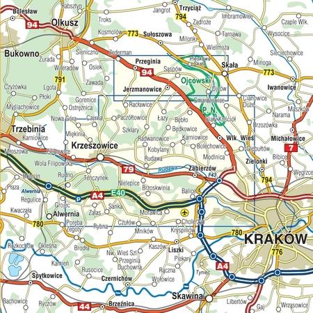 DOLINKI PODKRAKOWSKIE mapa turystyczna 1:25 000 COMPASS 2021 (5)