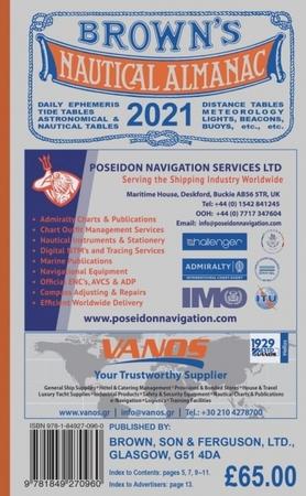 Brown's Nautical Almanac 2021 (1)