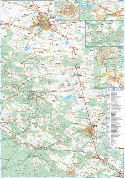 ROZTOCZE ŚRODKOWE mapa laminowana 1:50 000 COMPASS 2021 (5)
