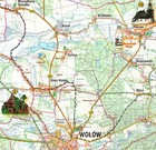 WOŁÓW mapa turystyczna 1:52 000 COMPASS 2019 (2)