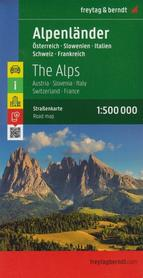 KRAJE ALPEJSKIE mapa 1:500 000 FREYTAG & BERNDT