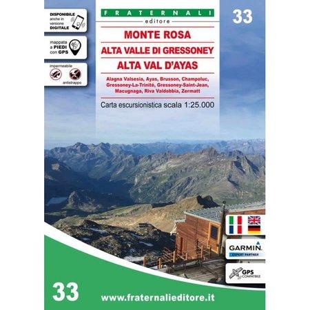 MONTE ROSA mapa turystyczna 1:25 000 Fraternali Editore 2020 (1)