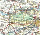 KAMPINOSKI PARK NARODOWY mapa laminowana 1:50 000 COMPASS 2021 (2)