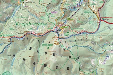 BESKID ŚLĄSKI I ŻYWIECKI mapa 1:50 000 COMPASS 2021 (4)