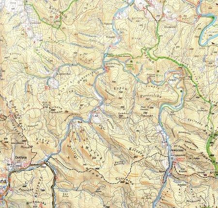 BIESZCZADY mapa turystyczna 1:50 000 RUTHENUS 2021 (2)