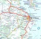 TANZANIA ZANZIBAR mapa 1:1 300 000 MICHELIN 2020 (2)