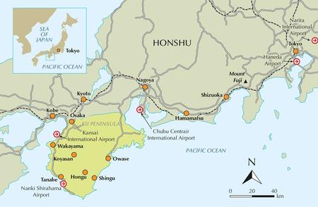 Japan's Kumano Kodo Pelgrimage przewodnik CICERONE 2020 (4)