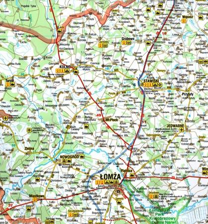PODLASKIE Podróżownik mapa laminowana DEMART 2021 (3)