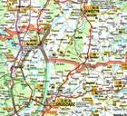 POMORSKIE Podróżownik mapa laminowana DEMART 2021 (2)