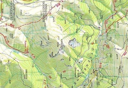 07 ALTA BADIA - ARABBA - MARMOLADA mapa turystyczna 1:25 000 TABACCO 2021 (4)