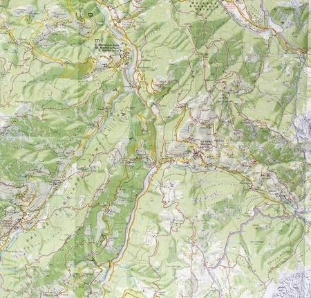 07 ALTA BADIA - ARABBA - MARMOLADA mapa turystyczna 1:25 000 TABACCO 2021 (6)