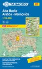 07 ALTA BADIA - ARABBA - MARMOLADA mapa turystyczna 1:25 000 TABACCO 2021 (1)