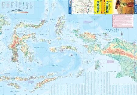 INDONEZJA mapa wodoodporna 1: 2 400 000 ITMB (3)