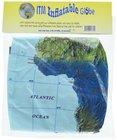 PIŁKA Świat mapa fizyczna 40 cm ITMB (2)