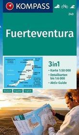 FUERTEVENTURA mapa turystyczna 1:50 000 KOMPASS 2020